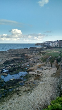 Near 40-foot beach in Sandycove